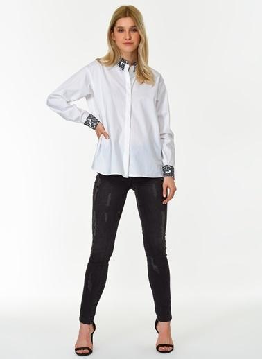 Ng Style Bluz Beyaz